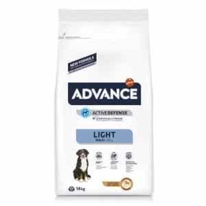 Pienso para perros Advance Maxi Light 14 kg